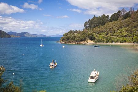 portage: Sailing boats Marlborough Sounds