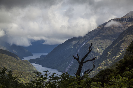 doubtful: Doubtful Sound Fjordland New Zealand Stock Photo