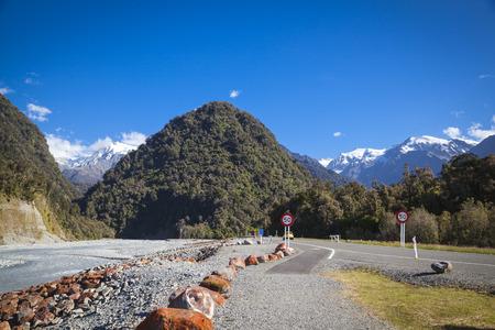 franz josef: Franz Josef Glacier South Island New Zealand