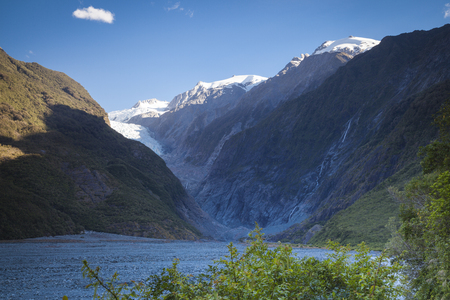 south island new zealand: Franz Josef Glacier South Island New Zealand