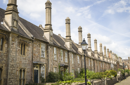 wells: Vicars close Wells Cathedral