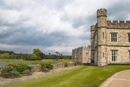 kent: Medieval Leeds Castle in Kent England