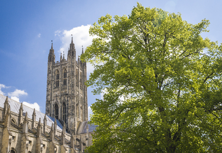 canterbury: Cathedral  of Christ at Canterbury Stock Photo