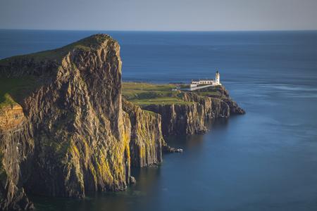 skye: Neist Point lighthouse, Isle of Skye, Scotland