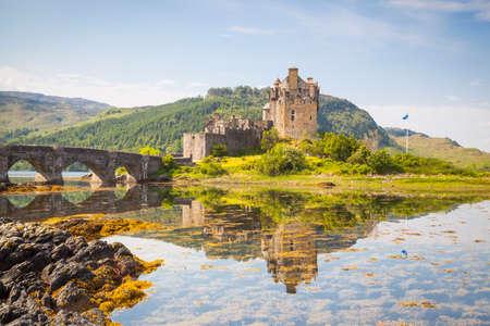 Eilean Donan Castle, Loch Duich, Highlands, Ecosse Banque d'images - 69634528