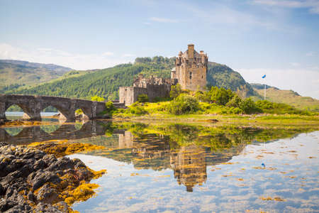 Eilean Donan Castle, Loch Duich, Highlands, Scotland Stock Photo - 69634528