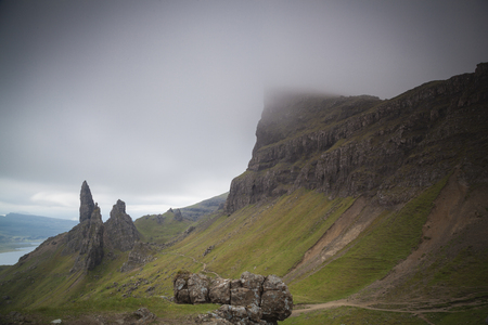 skye: The old man of Storr and other pinnaceles, Isle of Skye, Scotland