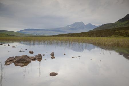 skye: Cullin mountains refelection, Isle of Skye, Scotland