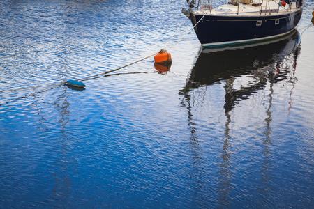 Boats in Porthmadog marina, Wales