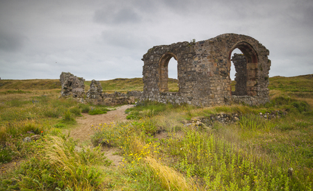 Llanddwyn Island, Anglesey, Wales Stock Photo
