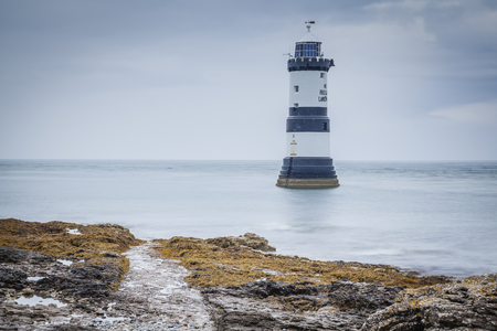 The lighthouse at Penmon Point, Anglesey