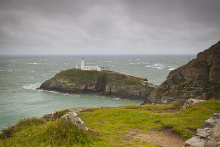 South Stack lighthouse, Holy Head, Anglesey