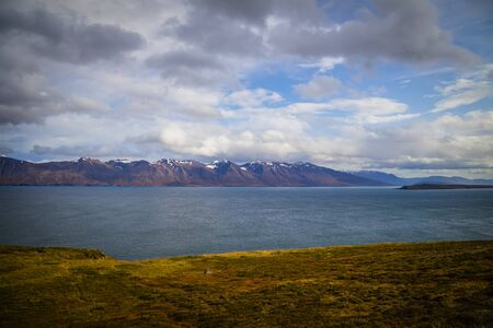 Typical landscape of Iceland