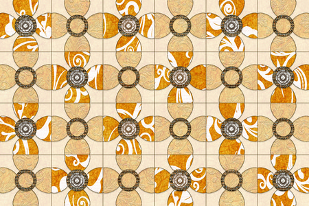 artwork: The tiles are the good texture for the background artwork,interior decoration and architectural design material Stock Photo