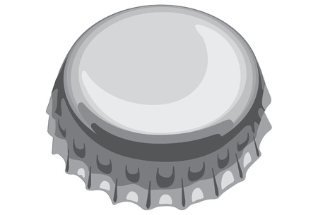 bottle with cap: one of bottle cap