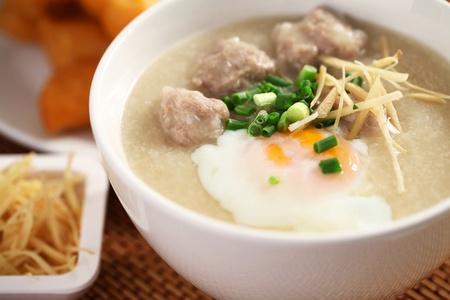 Chinese porridge Stock Photo