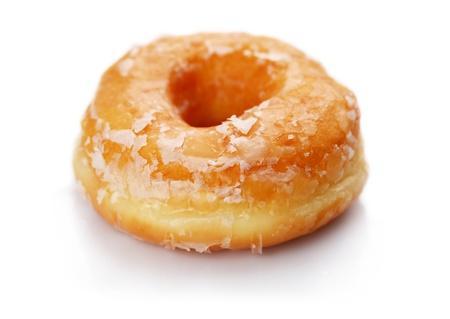 Donuts op een witte achtergrond Stockfoto