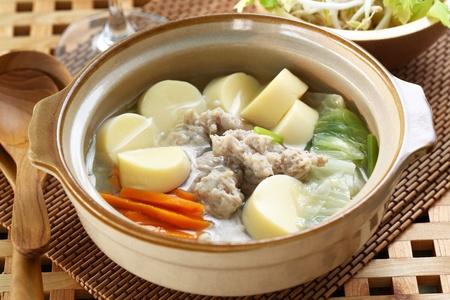mushroom soup: Thai cuisine name Pork soup