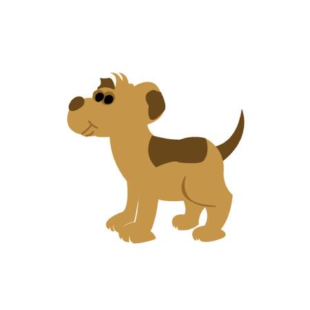 hardy: vector sketch dog Beagle breed. Illustration