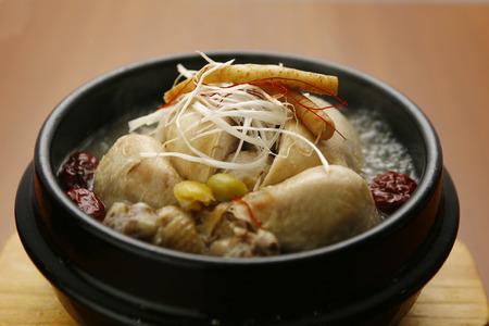 Samgetan soup Stock Photo