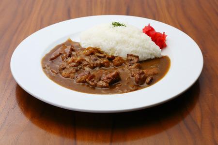 牛肉カレー
