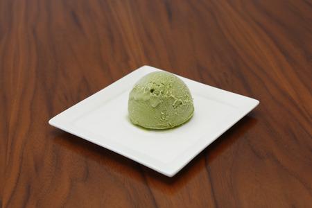 sweats: green tea ice cream