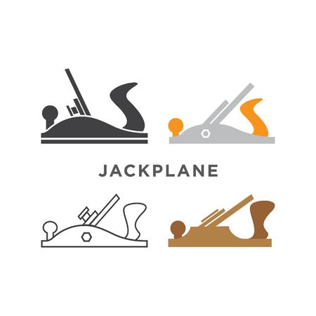 Illustratie van jack pictogram ontwerpsjabloon