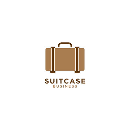 Illustration of suitcase graphic design template vector Vectores