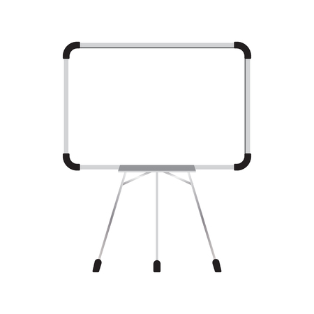 Illustration of whiteboard graphic design template vector Illustration