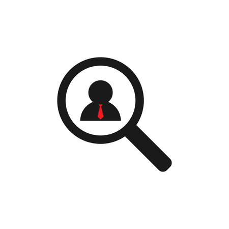 Job vacancy icon graphic design template vector isolated
