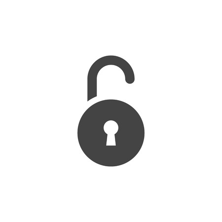 Padlock icon graphic design template vector isolated Imagens - 115079660