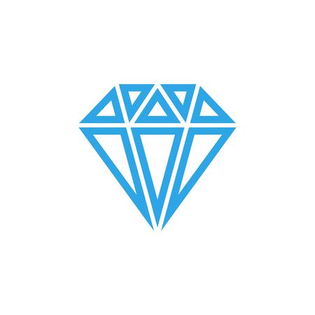 Diamond icon graphic design template vector isolated Illustration
