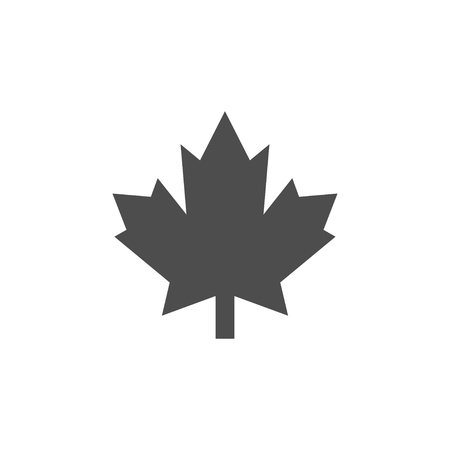 Maple icon graphic design template vector isolated 일러스트
