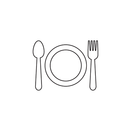 Utensil icon graphic design template 写真素材 - 116952978