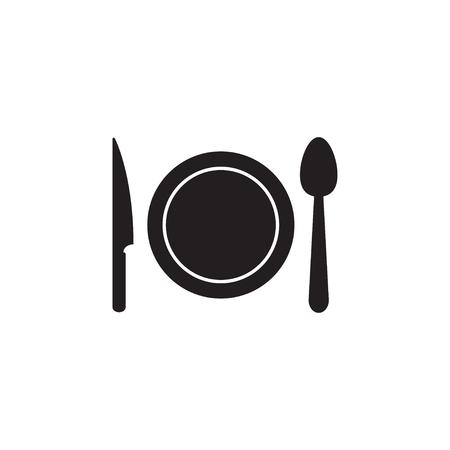 Utensil icon graphic design template  イラスト・ベクター素材