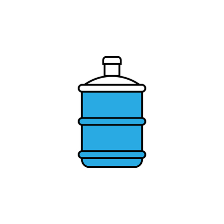 Water gallon icon design template vector isolated illustration Ilustrace