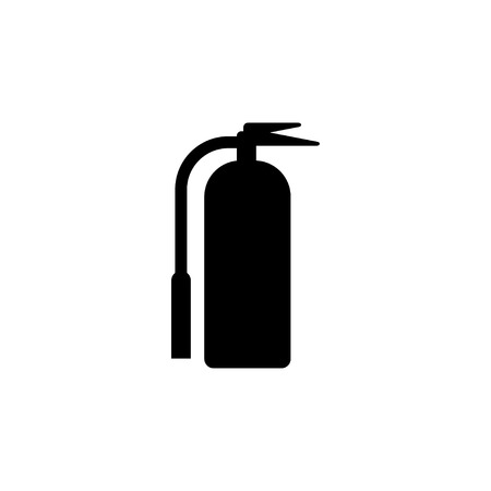 Fire extinguisher icon design template vector isolated illustration Banque d'images - 124767974