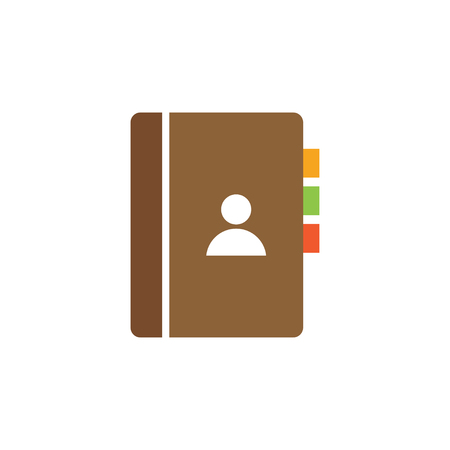 Book icon design template vector isolated illustration Illustration
