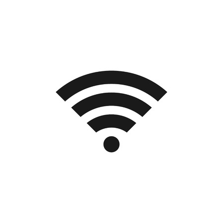 Wifi icon design template vector isolated illustration