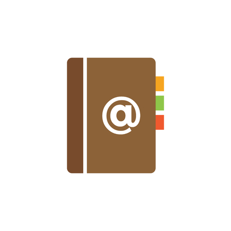 Book icon design template vector isolated illustration  イラスト・ベクター素材