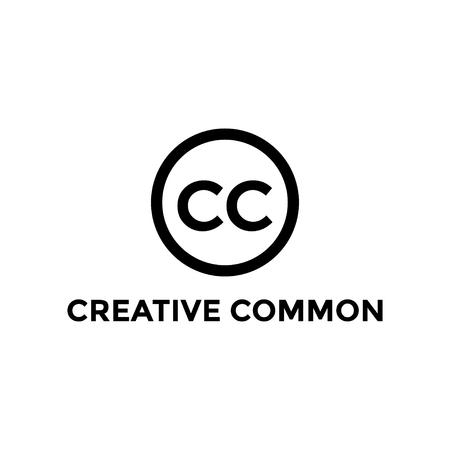Illustrazione isolata di vettore del modello di progettazione dell'icona comune creativo