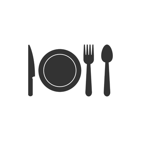 Cutlery icon design template vector isolated 写真素材 - 118077883