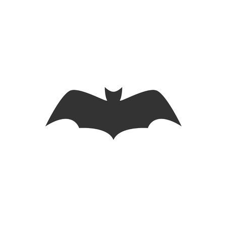 Bat animal icon design template vector isolated illustration Standard-Bild - 118079962