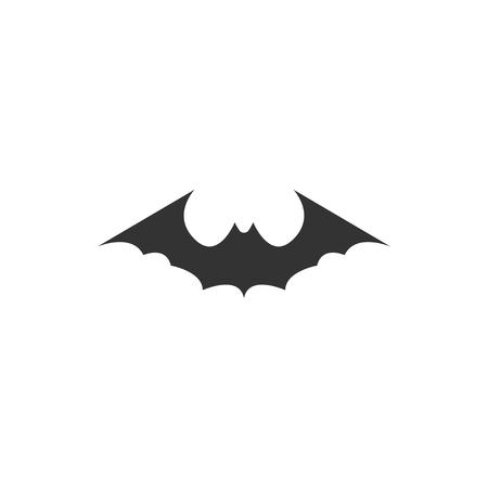 Bat animal icon design template vector isolated illustration Standard-Bild - 118079978