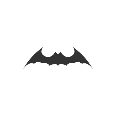Bat animal icon design template vector isolated illustration Standard-Bild - 118080009