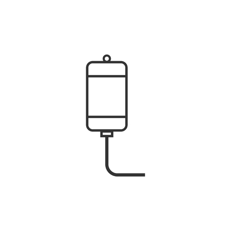 Intravenous icon design template vector isolated illustration