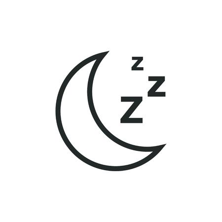 Sleep graphic design template vector illustration Vectores