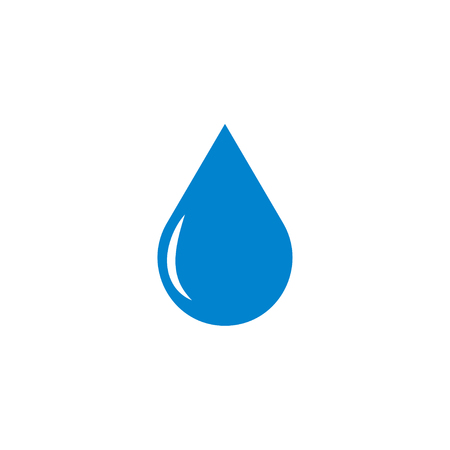 Water drop abstract graphic design template illustration