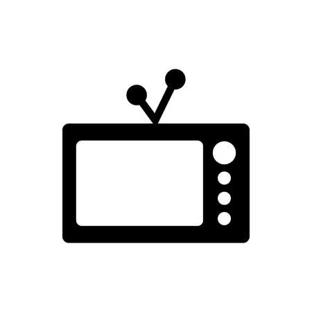 Old tv graphic design template vector illustration  イラスト・ベクター素材