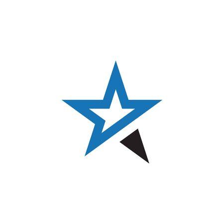 Star logo icon graphic design template vector Logo